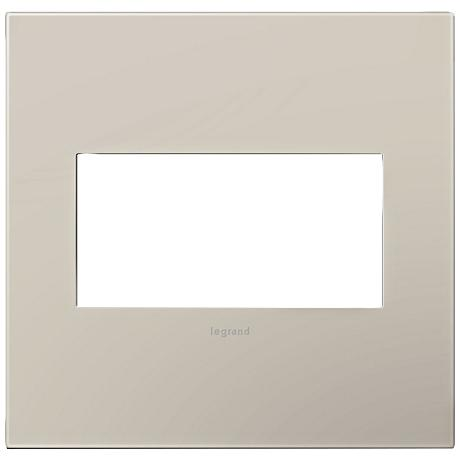 Adorne Greige 2-Gang Snap-On Wall Plate