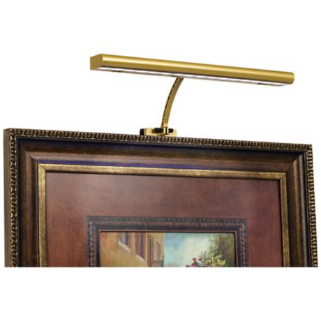 House of Troy Gold Finish Battery Powered LED Picture Light