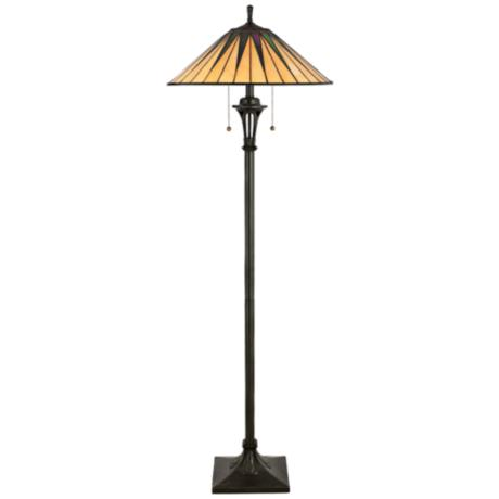 Starburst Tiffany Floor Lamp