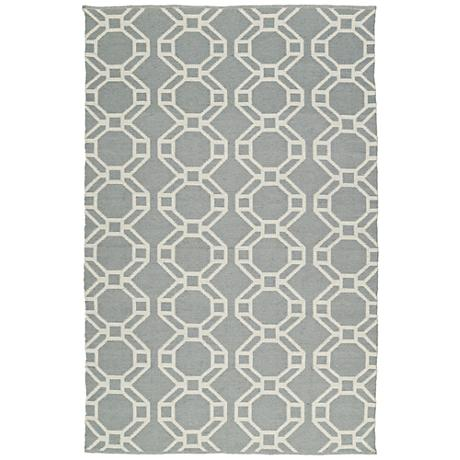 Kaleen Brisa BRI05-75 Gray Outdoor Area Rug