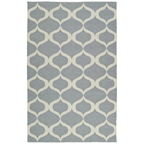 Kaleen Brisa BRI09-75 Gray Outdoor Area Rug