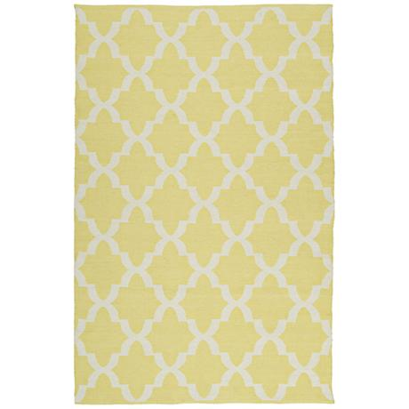 Kaleen Brisa BRI10-28 Yellow Outdoor Area Rug