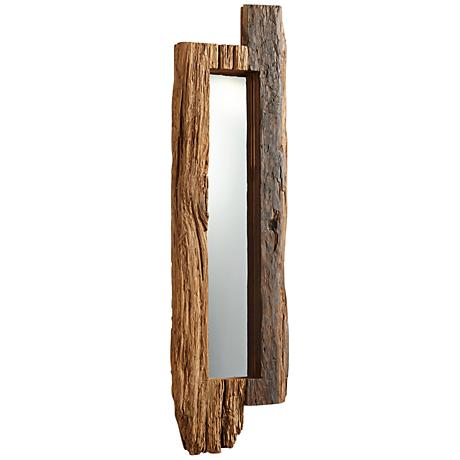 "Cyan Design Jonas Walnut 11 1/4"" x 43"" Wall Mirror"