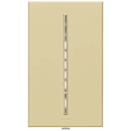 Lutron Vierti White LED Almond Companion Control