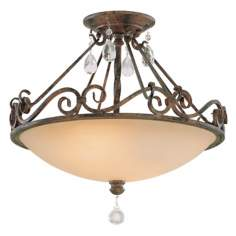 "Chateau Collection 16"" Wide Ceiling Light Fixture"
