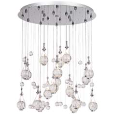 Possini Euro Paperweight Crystal Chandelier