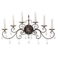 "Chateau Collection 30"" Wide Wall Sconce"