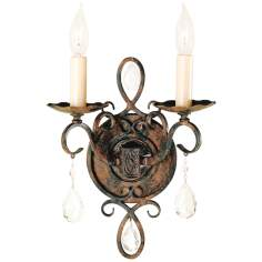 Chateau Collection Two Light Wall Sconce