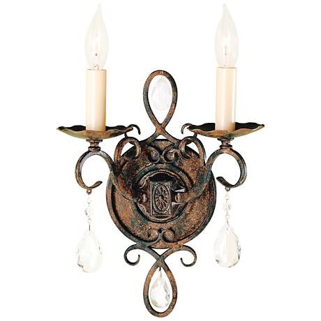 Feiss Chateau Collection Two Light Wall Sconce