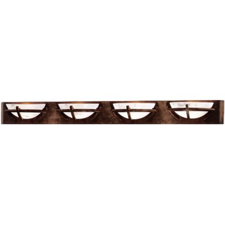 "Calavera Collection 49 3/4"" Wide Bathroom Light Fixture"