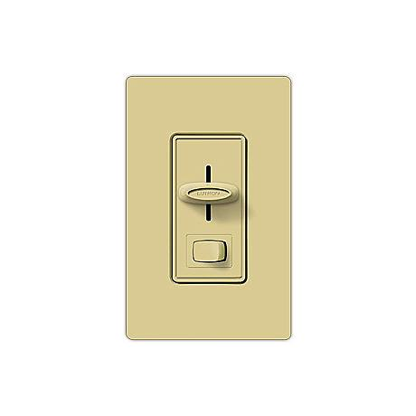 Lutron Skylark 600W 3-Way Slide Ivory Dimmer