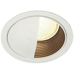 "Lightolier 5"" LV White Wall Washer Recessed Light Trim"