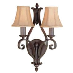 Romana Collection Shade Wall Sconce