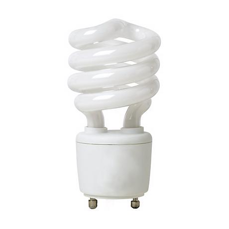 13 Watt GU24 Base CFL Light Bulb