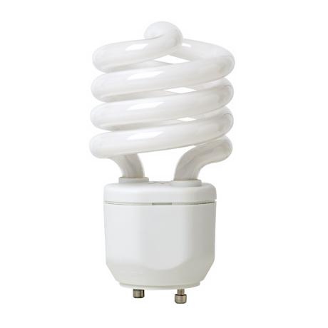 18 Watt GU24 Base CFL Light Bulb