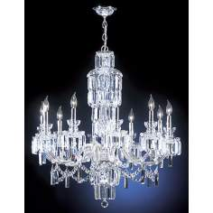 "James R Moder Grand Estate 33"" Wide Large Crystal Chandelier"
