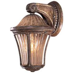 "Amarante Gold 10 3/4"" High Outdoor Wall Light"
