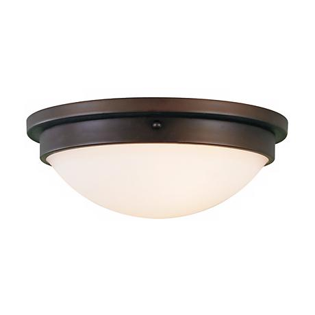 "Feiss Boulevard Collection 13"" Wide Ceiling Light Fixture"