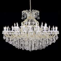 "James R. Moder Maria Teresa 77"" Wide Grand Chandelier"