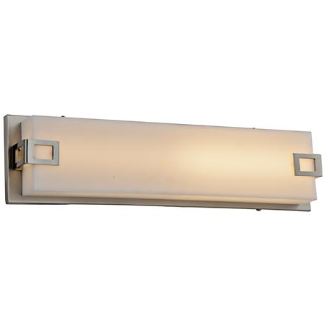 "Avenue Cermack St. 26"" Wide Brushed Nickel LED Bath Light"