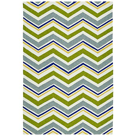 Kaleen Escape ESC05-50 Green Outdoor Area Rug