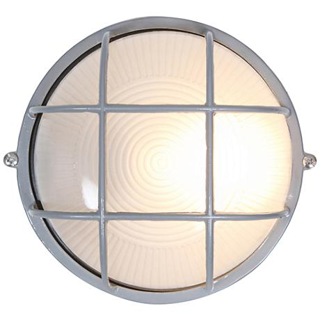 "Nauticus 7"" High Satin LED Outdoor Wall Light"