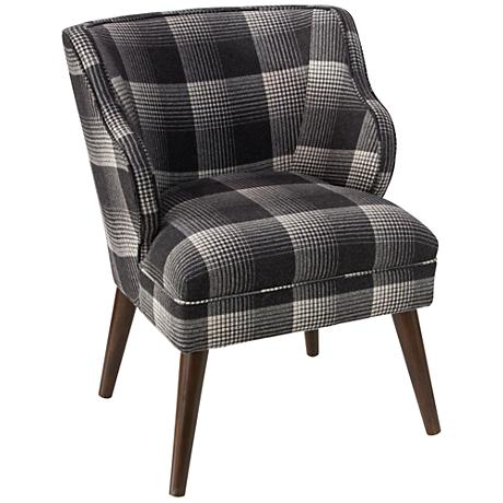 T-bird Aberdeen Flint Fabric Armchair