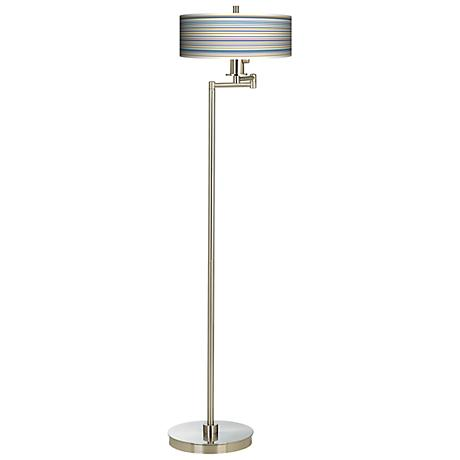 Stacy Garcia Landscape Stripe Energy Efficient Floor Lamp