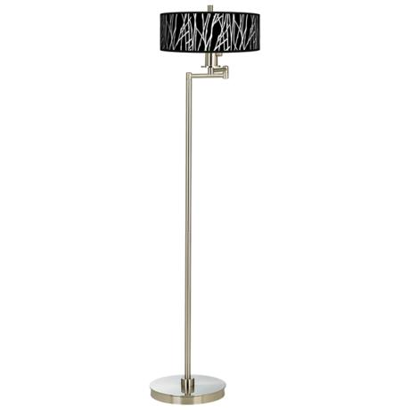 Stacy Garcia Twiggy Black Energy Efficient Floor Lamp