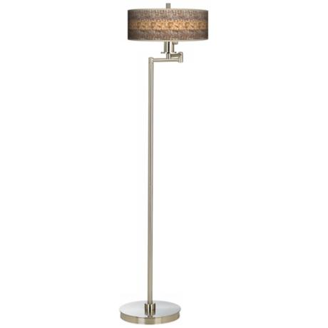 Woven Fundamentals Energy Efficient Floor Lamp