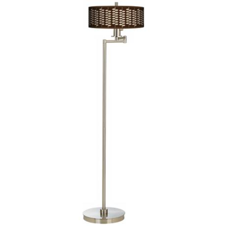 Hi Fi Giclee Energy Efficient Swing Arm Floor Lamp