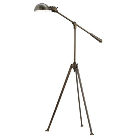 Robert Abbey Rutherford Tripod Pharmacy Floor Lamp