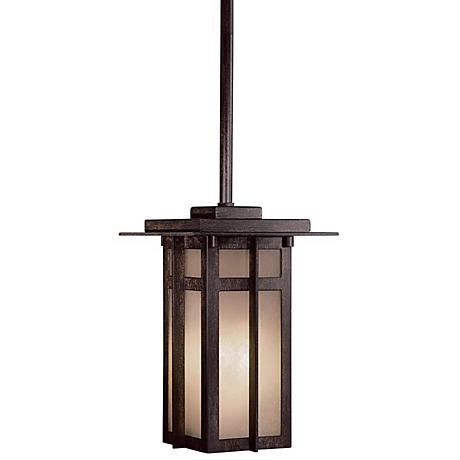 "Delancy Fluorescent 11"" High Outdoor Hanging Light"