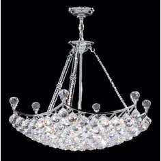 James R. Moder Granada Crystal Collection Pendant Chandelier