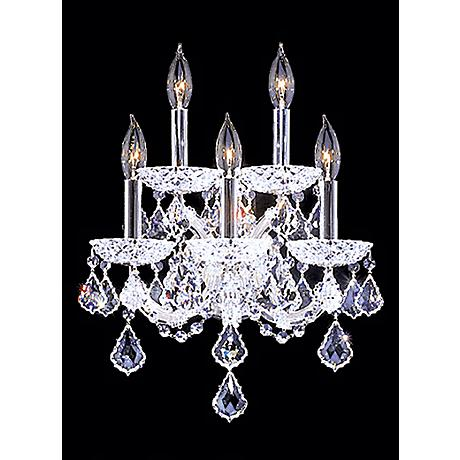 "James R. Moder Maria Theresa 17"" High Grand Sconce"