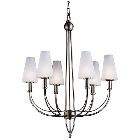 Forecast Sleek Collection Six Light Chandelier