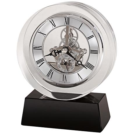 "Howard Miller Fusion 5 3/4"" High Optical Crystal Clock"