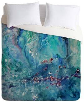 Rosie Brown Diver Paradise Queen Duvet Cover (13J99) 13J99