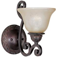 "Symphony Oil Rubbed Bronze 11"" High  Light Sconce"