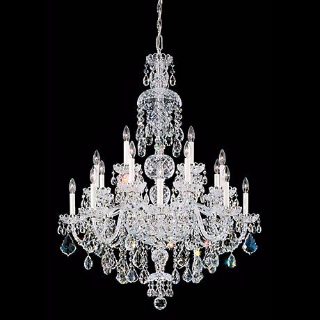 Schonbek Olde World Collection 25-Light Crystal Chandelier