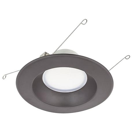 "5"" or 6"" Bronze 13.5 Watt Dimmable LED Retrofit Trim"