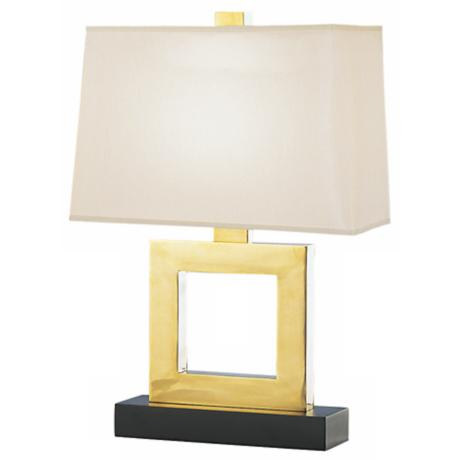 Duncan Natural Brass Table Lamp