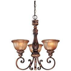 "Minka-Lavery Illuminati 22"" Wide 3-Light Mini Chandelier"