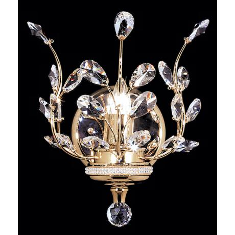 James R. Moder Florale Collection Wall Sconce
