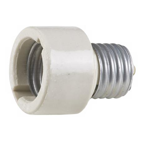 Ceramic Socket Extender for Medium Base Light Bulbs
