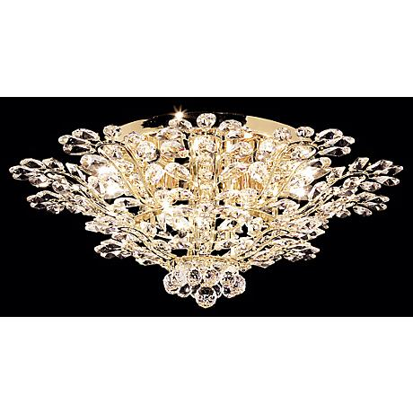 "James R. Moder Florale Collection 27"" Wide Ceiling Light"