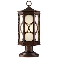 "Moonscape Collection 22"" High Outdoor Post Light Fixture"