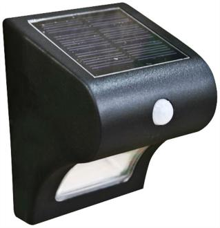 "Providence 5"" High Black Solar Motion-Sensor Deck Light (15A73) 15A73"