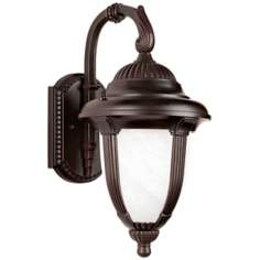 "Casa Sorrento™ 18 1/2"" High LED Outdoor Wall Light"