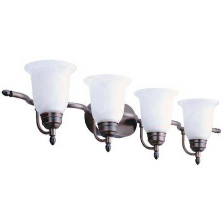 "ENERGY STAR® 39 15/16"" Wide Bathroom Light Fixture"